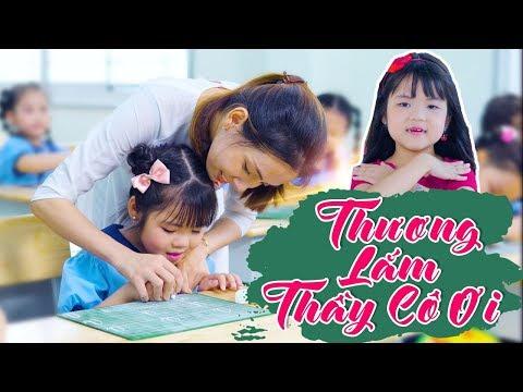 Thương Lắm Thầy Cô Ơi - Bé Minh Vy [ MV OFFICIAL]  - Nhạc Thiếu Nhi Cho Bé