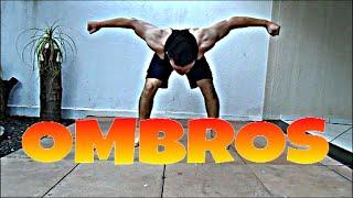 Como treinar ombros em casa! completo passo a passo, deltoides - Projeto Street Workout