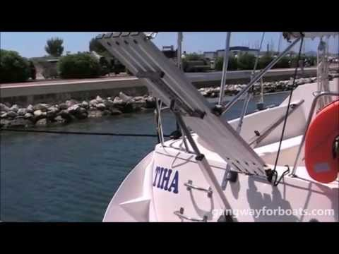 Electric Gangway For Boats Alu