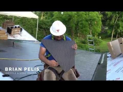 Tesla Solar Roof: Dragon Scale Valley Installation