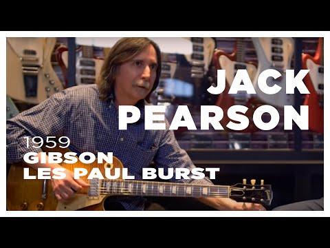 Vault Sessions: Jack Pearson (Allman Brothers)/1959 Gibson Les Paul Burst