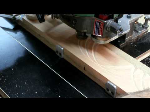 видео: Изготовление декора на фрезерном станке. Часть 3. making wooden molding.
