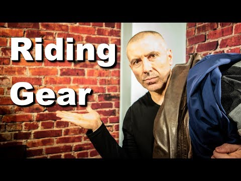 Motorcycle Riding Gear - Watch This Before You Buy It!