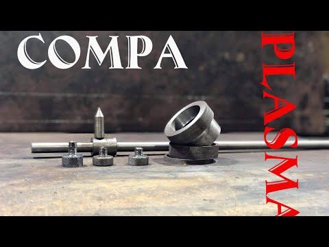 DIY  Making Compa plasma ll chế compa plasma cắt hình tròn