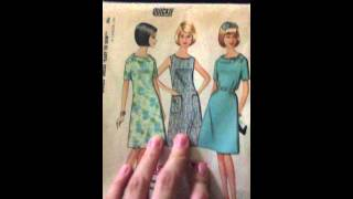 My Vintage Sewing Pattern Collection