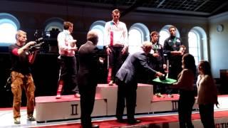 Международный турнир по фехтованию «Рапира Санкт-Петербурга»-награждение