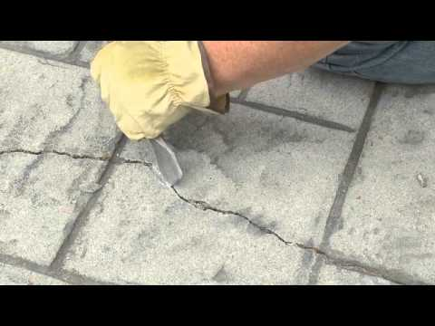 How to Repair, Seal and Waterproof Concrete Cracks