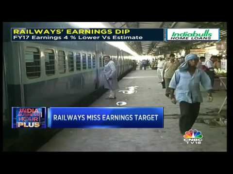 Railways Miss Earnings Target