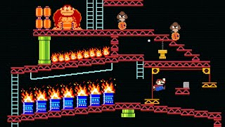 Mario and the Donkey Kong Baffling World