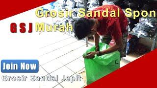 Grosir Sandal Spon Murah Hanya Di GrosirSandalJepit com