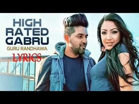 Guru Randhawa High Rated Gabru Lyrics | Latest Punjabi Song 2017 | IMSLV thumbnail