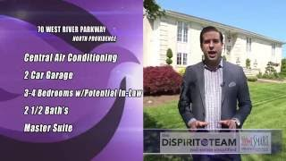 70 WEST RIVER PARKWAY NORTH PROVIDENCE RI - Raised Ranch Home For Sale