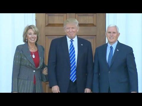 Trumps Taps Billionaire School Privatizer for Education Secretary