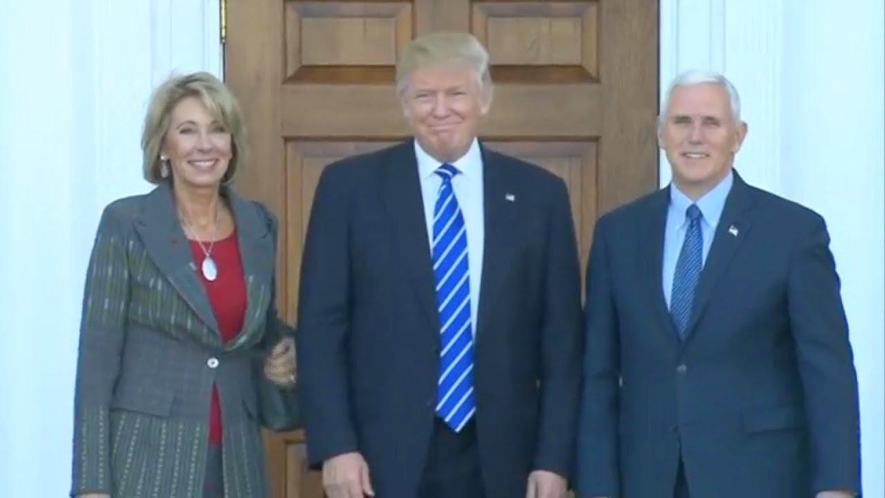 US education secretary Betsy DeVos downplays risk of opening ...