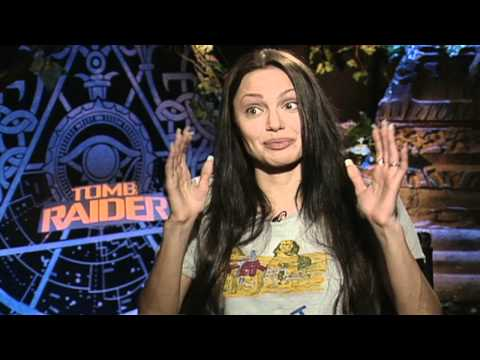 Lara Croft: Tomb Raider: Angelina Jolie Interview