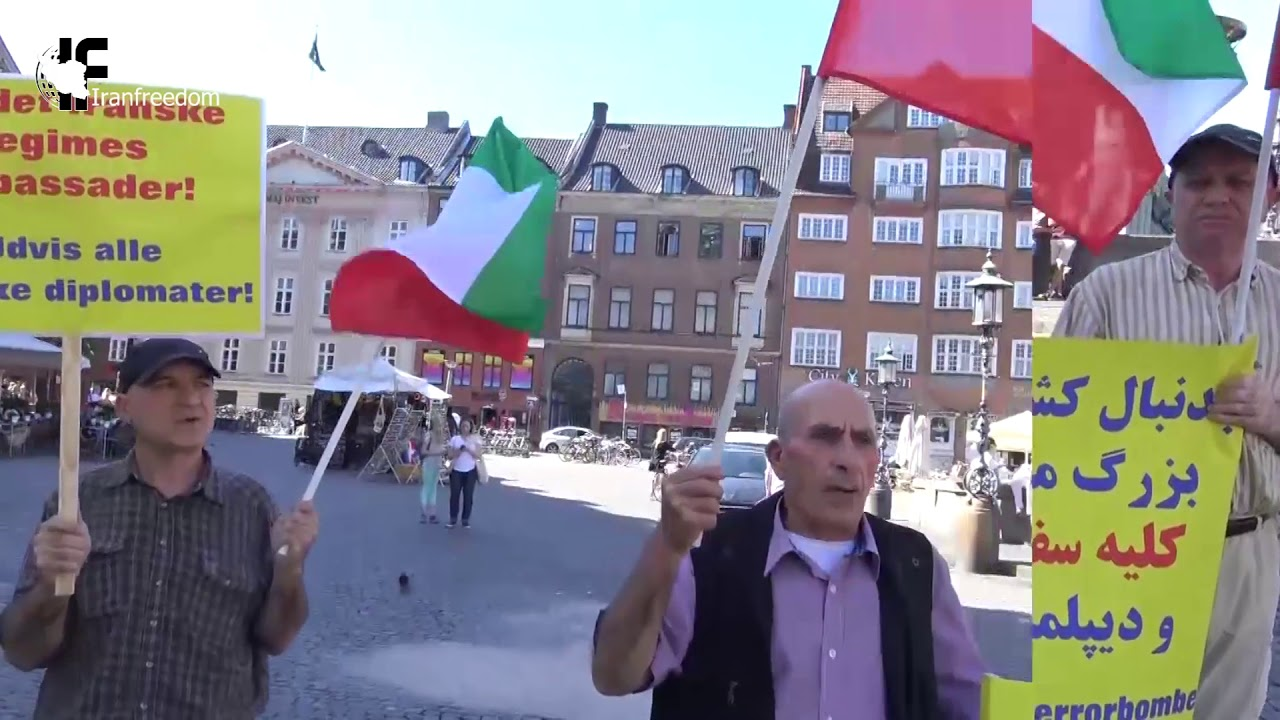 Demonstrations of Iranian compatriots in European countries ​ 2