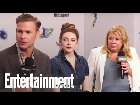 Legacies: The Cast Dishes On Potential Guest Appearances | SDCC 2018 | Entertainment Weekly