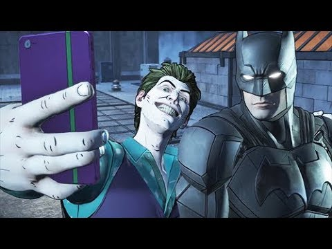 Taking a Selfie With Joker - Destroy Phone Or Let Him Keep It - BATMAN The Enemy Within Episode 3