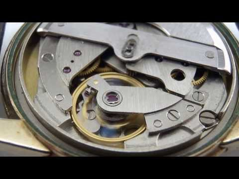 Elgin 761 automatic movement 27 Jewels running.