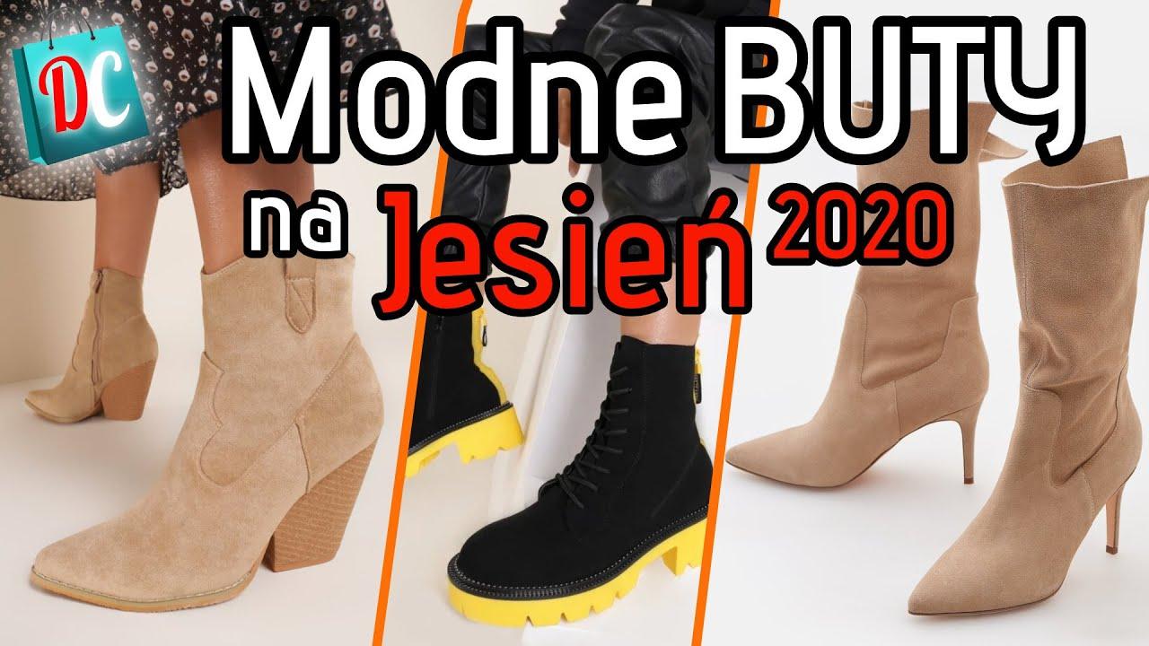 Buty Na Jesien 2020 Gdzie Kupic Najlepsze Botki Kowbojki I Trapery Youtube