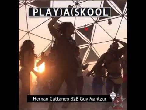Hernan Cattaneo B2B Guy Mantzur - Live From Burning Man - Playa Skool - 2017