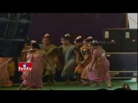 Adivasi Dance | World's Indigenous Peoples Day Celebrations at Vizag | HMTV