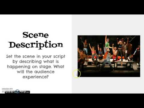 Script Writing - Musical
