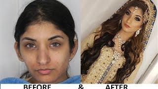 Pakistani Asian Bridal Walima / Registry Make Up By Hirah Mughal