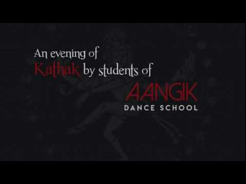 An evening of Kathak by the Students of Aangik dance school