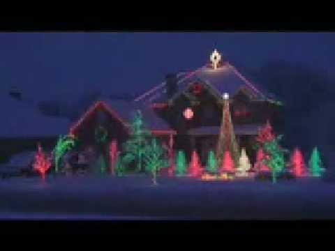 Slayer Weihnachtsbeleuchtung.Rhytmische Weihnachtsbeleuchtung