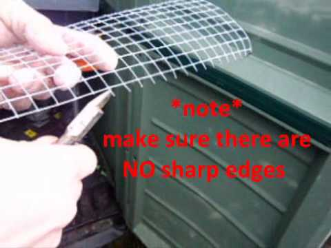 How i make hamster bin cage levels youtube for How to build a hamster cage