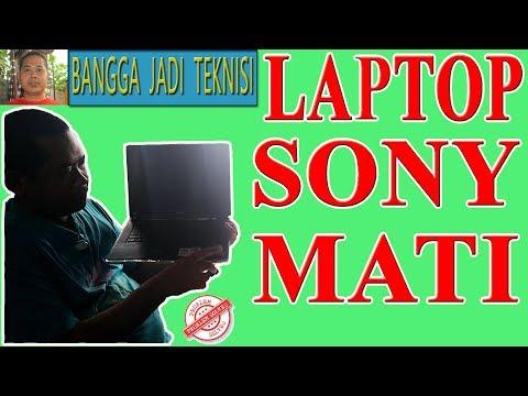 Cara Memperbaiki Laptop Sony Vaio PCG - 5K2L Mati Total