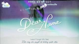 [VIETSUB + LYRICS + ENGSUB] Dear Name (이름에게) - IU (아이유)
