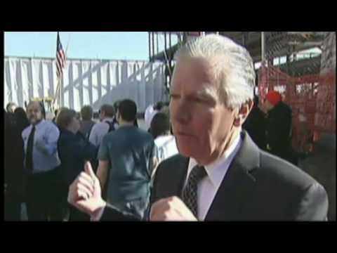 WHDH-TV 7News Report - UMass Lowell ETIC Beam & Time Capsule Ceremony 3/30/11