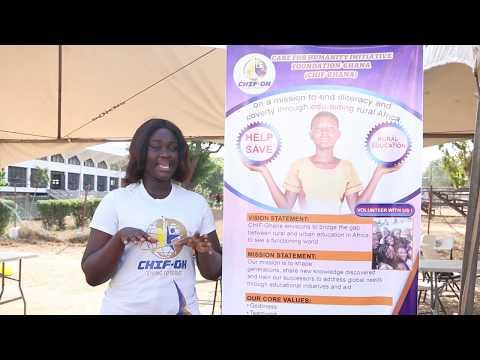 CHIF Ghana at the University of Ghana career fair 2018