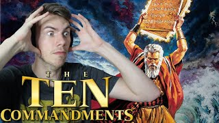 The Ten Commandments (1956) - MOVIE REACTION - FIRST TIME WATCHING