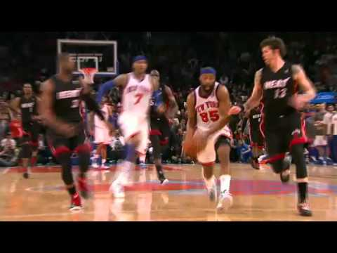 NBA Playoffs 2012: Miami Heat Vs New York Knicks Game 4 Highlights (3-1) Melo Game Winner