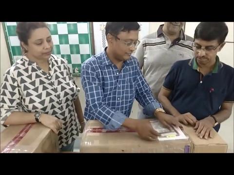 GM Dibyendu Barua thanks GM Jacob Aagaard and Quality Chess for sending chess books
