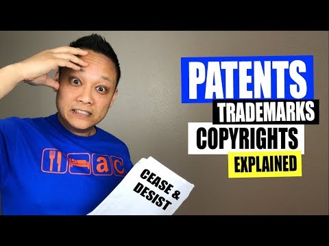 Patents, Trademarks and Copyrights Explained for Amazon FBA Private Label