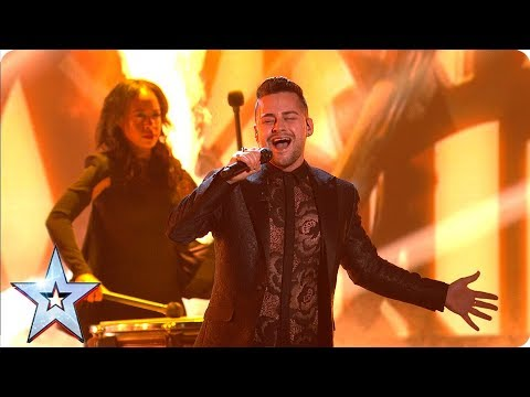 Rob King lights up the room with STUNNING performance of 'Memory' | Semi-Finals | BGT 2019