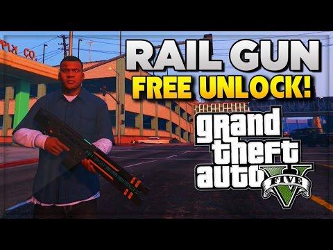 GTA 5 How To Unlock The Railgun Glitch FREE in GTA V ...