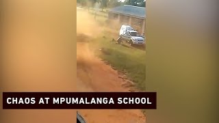 Police shoot former pupil after he attacks school and police with bricks thumbnail