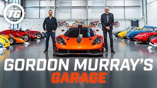 Inside Gordon Murray's incredible lightweight car collection | Top Gear
