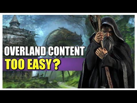 Overland Content Too Easy? | ESO Blackwood | Elder Scrolls Online |