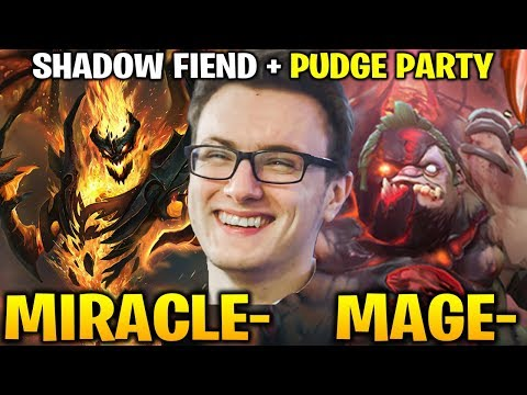 MIRACLE SF + MAGE PUDGE - THIS IS NOT ENOUGH