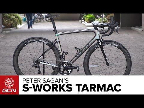 Peter Sagan's Specialized S-Works Tarmac | Tour de France 2017
