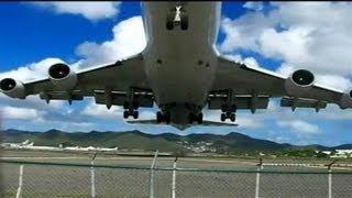 Start Samolotu z Niecodziennej Perspektywy