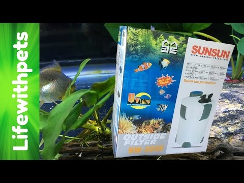 How to Set Up a Sunsun Canister Filter