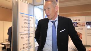 Interview with Achim Glass, KUEHNE NAGEL, TRANSLOG Connect Congress 2014