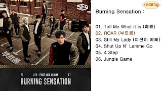 Full Album SF9 Burning Sensation 1st Mini Album